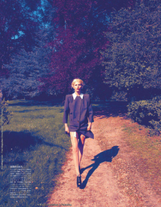 'The Country Went Wild' Aline Weber by Camilla Akrans for Vogue Japan August 2011 8